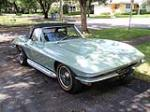 1966 CHEVROLET CORVETTE CONVERTIBLE - Front 3/4 - 170036