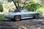 1966 CHEVROLET CORVETTE CONVERTIBLE - Side Profile - 170036