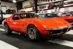 1969 CHEVROLET CORVETTE CONVERTIBLE - Front 3/4 - 170038