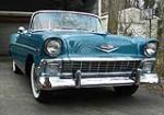1956 CHEVROLET BEL AIR CONVERTIBLE - Front 3/4 - 170043