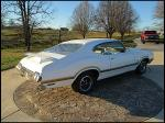 1970 OLDSMOBILE 442 W30 2 DOOR COUPE - Rear 3/4 - 170092