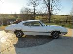 1970 OLDSMOBILE 442 W30 2 DOOR COUPE - Side Profile - 170092