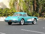 1960 CHEVROLET CORVETTE CONVERTIBLE - Rear 3/4 - 170100