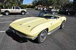 1966 CHEVROLET CORVETTE CONVERTIBLE - Front 3/4 - 170132