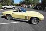 1966 CHEVROLET CORVETTE CONVERTIBLE - Side Profile - 170132