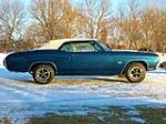 1970 CHEVROLET CHEVELLE SS CONVERTIBLE - Side Profile - 170145