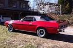 1971 FORD MUSTANG CONVERTIBLE - Rear 3/4 - 170149