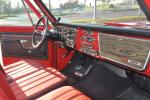 1972 CHEVROLET CHEYENNE SUPER 10 PICKUP - Interior - 170153