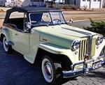 1948 WILLYS JEEPSTER CONVERTIBLE - Front 3/4 - 170234