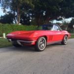 1965 CHEVROLET CORVETTE CONVERTIBLE - Front 3/4 - 170278