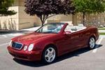 2001 MERCEDES-BENZ CLK430 CONVERTIBLE - Front 3/4 - 170326