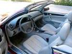 2001 MERCEDES-BENZ CLK430 CONVERTIBLE - Interior - 170326