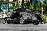 1940 FORD DELUXE CUSTOM CONVERTIBLE - Rear 3/4 - 170379