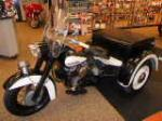 1966 HARLEY-DAVIDSON SERVI-CAR POLICE EDITION - Side Profile - 170399
