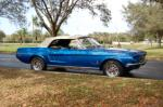 1968 FORD MUSTANG CONVERTIBLE - Front 3/4 - 170619