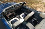 1968 FORD MUSTANG CONVERTIBLE - Interior - 170619