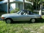 1986 MERCEDES-BENZ 560SL CONVERTIBLE - Side Profile - 170632
