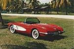 1960 CHEVROLET CORVETTE CONVERTIBLE - Rear 3/4 - 170705