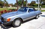 1982 MERCEDES-BENZ 380SL CONVERTIBLE - Front 3/4 - 170787