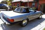 1982 MERCEDES-BENZ 380SL CONVERTIBLE - Rear 3/4 - 170787
