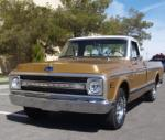 1969 CHEVROLET C-10 PICKUP - Front 3/4 - 170950