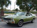 1969 AMERICAN MOTORS AMX 2 DOOR COUPE - Front 3/4 - 172049