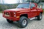 1981 CHEVROLET C-10 CUSTOM PICKUP - Front 3/4 - 174443