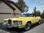 1973 MERCURY COUGAR XR7 CONVERTIBLE - Front 3/4 - 174457