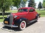 1936 CHEVROLET MASTER DELUXE 2 DOOR COUPE - Front 3/4 - 174459