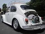 1969 VOLKSWAGEN BEETLE CUSTOM 2 DOOR SEDAN - Rear 3/4 - 174504