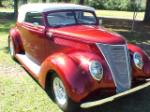 1937 FORD CUSTOM ROADSTER - Front 3/4 - 174525