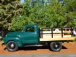 1949 CHEVROLET 3600 FLATBED TRUCK - Side Profile - 174615