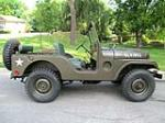 1952 WILLYS JEEP  - Side Profile - 174617