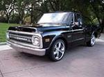 1969 CHEVROLET C-10 CUSTOM PICKUP - Front 3/4 - 174631