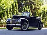 1939 FORD DELUXE CONVERTIBLE SEDAN - Front 3/4 - 174720