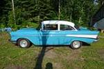 1957 CHEVROLET 210 CUSTOM 2 DOOR POST - Side Profile - 174730
