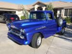 1958 CHEVROLET 3100 CUSTOM PICKUP - Front 3/4 - 175179