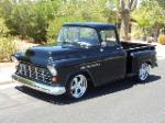 1955 CHEVROLET 3100 CUSTOM PICKUP - Front 3/4 - 177152