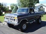 1977 FORD F-150 4X4 PICKUP - Front 3/4 - 177206