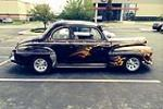 1946 FORD SUPER DELUXE CUSTOM 2 DOOR COUPE - Side Profile - 177219
