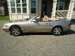 2000 MERCEDES-BENZ SL500 CONVERTIBLE - Side Profile - 177230
