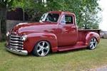 1953 CHEVROLET 3100 CUSTOM PICKUP - Front 3/4 - 177391