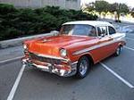 1956 CHEVROLET BEL AIR CUSTOM 2 DOOR HARDTOP - Front 3/4 - 177465