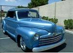1946 FORD DELUXE CUSTOM CONVERTIBLE - Front 3/4 - 177542
