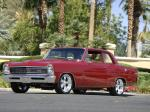 1966 CHEVROLET NOVA CUSTOM 2 DOOR HARDTOP - Front 3/4 - 178493
