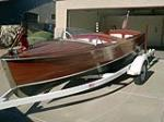 1949 CHRIS-CRAFT SPORT RUNABOUT BOAT - Front 3/4 - 178503