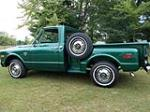 1968 CHEVROLET C-10 PICKUP - Side Profile - 178679