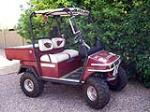 1977 CLUB CUSTOM GOLF CART - Front 3/4 - 179601