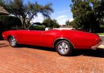 1969 OLDSMOBILE 442 CONVERTIBLE - Side Profile - 180193
