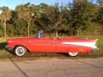 "1957 CHEVROLET BEL AIR CONVERTIBLE ""FUELIE"" - Side Profile - 180645"